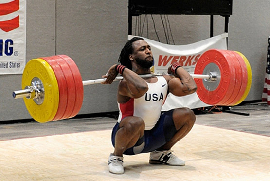 The front squat is to the clean what the overhead squat is to the snatch.